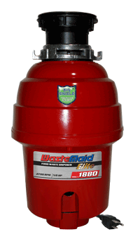WasteMaid Elite Garbage Disposer Specs Model #1880